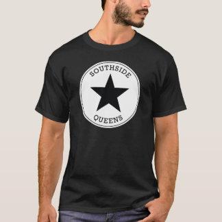 Camiseta T-shirt preto e branco do Queens New York