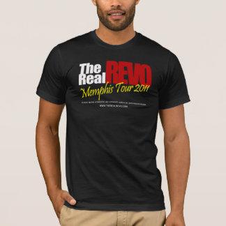 Camiseta T-shirt preto real de Revo