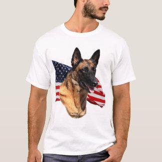 Camiseta T-shirt principal de Malinois do belga