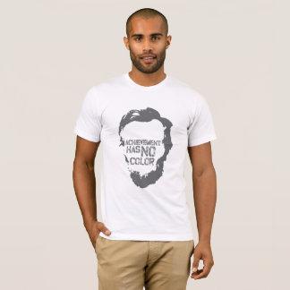 Camiseta T-shirt projetado exclusivo - anti racismo