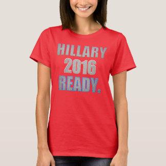 Camiseta T-shirt pronto de Hillary 2016