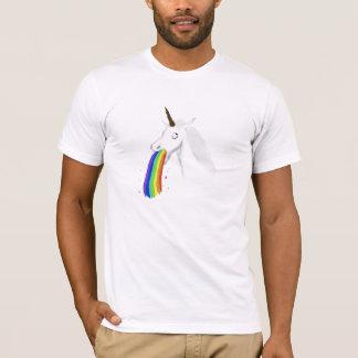 Camiseta T-shirt Puking #2 do unicórnio