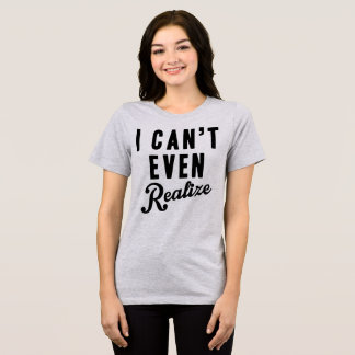 Camiseta T-shirt que de Tumblr eu posso nem sequer realizar