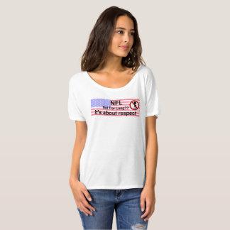 Camiseta T-shirt que protesta o NFL