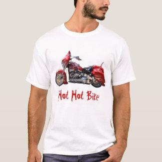 Camiseta T-shirt quente quente da bicicleta