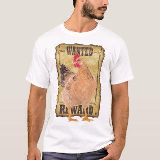Camiseta T-shirt querido da galinha