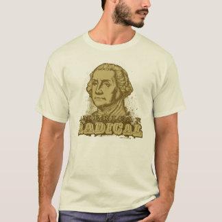 Camiseta T-shirt radical americano de George Washington