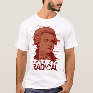 Camiseta T-shirt radical americano de Jefferson