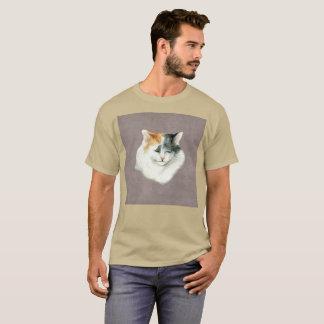 Camiseta T-shirt raro da aguarela da tristeza do seixo de
