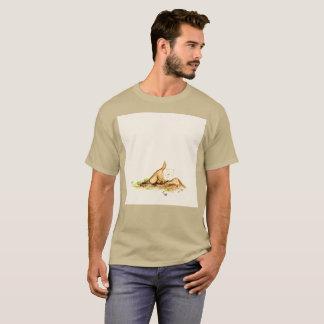 Camiseta T-shirt raro enterrado da aguarela subterrânea de