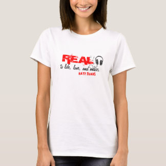 Camiseta T-shirt REAL (do auscultadores)