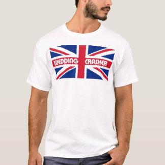 Camiseta T-shirt real do estrondo do casamento