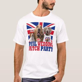 Camiseta T-shirt real engraçado do partido do relógio do