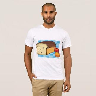 Camiseta T-shirt recentemente cozido dos homens do pão