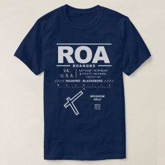 Camiseta T-shirt regional de ROA de Roanoke - de aeroporto