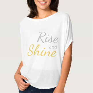 Camiseta T-shirt Relaxed da elevação e do brilho