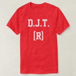 Camiseta T-shirt republicano do dia de eleição