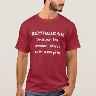 Camiseta T-shirt REPUBLICANO do Shave das mulheres