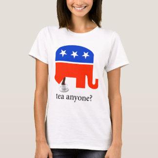 Camiseta T-shirt republicano do tombadilho do elefante do