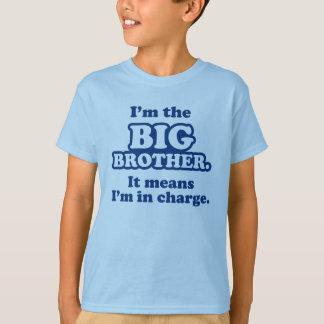 Camiseta T-shirt responsáveis do big brother