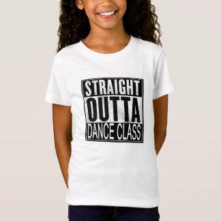 Camiseta T-shirt reto da classe de dança de Outta