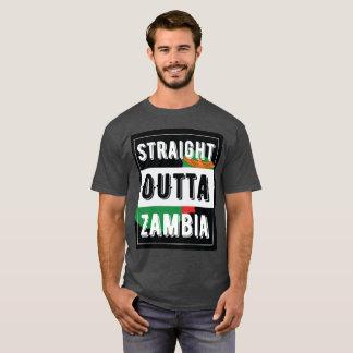 Camiseta T-shirt reto da Zâmbia de Outta