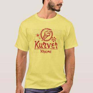 Camiseta T-shirt retro afligido vintage de Kurver Kreme
