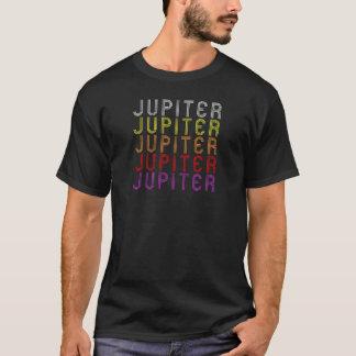 Camiseta T-shirt retro da astronomia do vintage do planeta