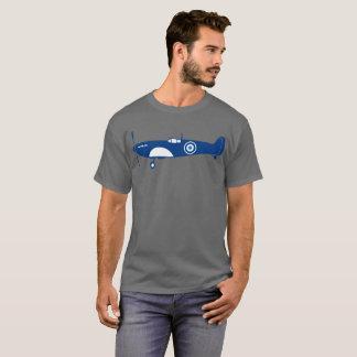 Camiseta T-shirt retro da cabeça-quente do avião de combate