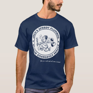 Camiseta T-shirt retro da obscuridade do encanamento