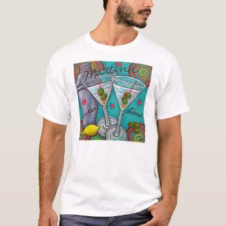 Camiseta T-shirt retro de Martini