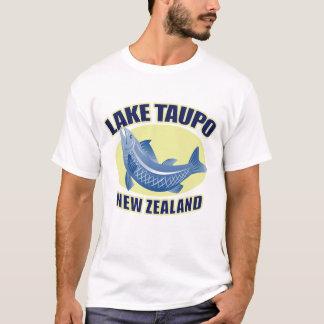 Camiseta T-shirt retro de Taupo Nova Zelândia do lago men's