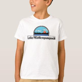 Camiseta T-shirt retro do acampamento de Wallenpauapack do