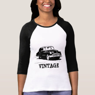 Camiseta T-shirt retro do carro do vintage