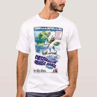Camiseta T-shirt retro do espaço interno do destino