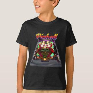 Camiseta T-shirt retro do Pinball