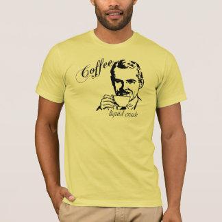 Camiseta T-shirt retro dos homens da rachadura líquida do