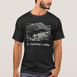 Camiseta T-shirt rico do couro do Corinthian