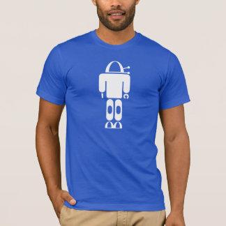 Camiseta T-shirt robótico retro do quebra-cabeça do robô