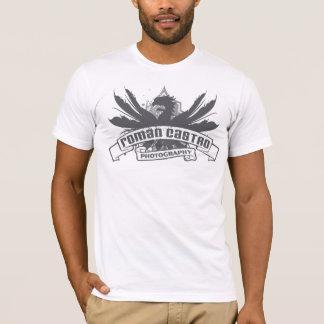 Camiseta T-shirt romano do blogue da fotografia de Castro