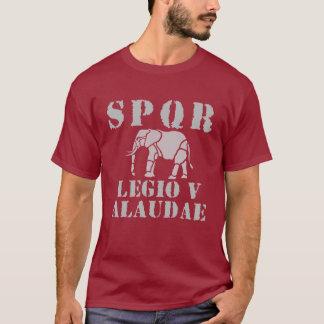 Camiseta T-shirt romano do elefante da legião de Júlio