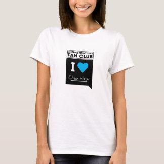Camiseta T-shirt & roupa (agua potável)
