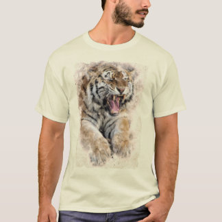Camiseta T-shirt rujir do tigre