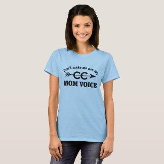 Camiseta T-shirt Running engraçado da voz da mamã do país