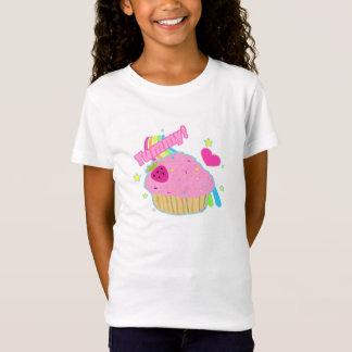 Camiseta T-shirt saboroso do cupcake