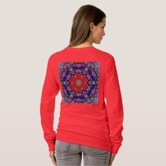 """Camiseta T-shirt sagrado de """"Nichito"""" da geometria daqui"""