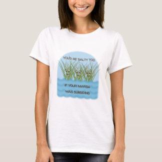 Camiseta T-shirt salgado da chalaça - personalize o tipo da