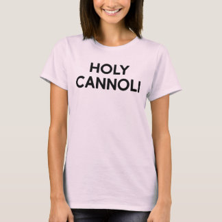 Camiseta T-shirt santamente de Cannoli