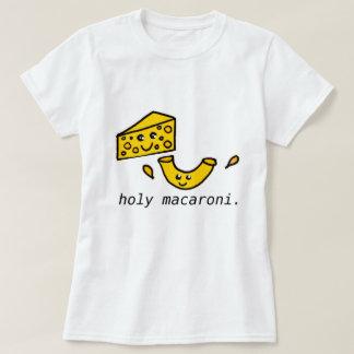 Camiseta t-shirt santamente do macarrão