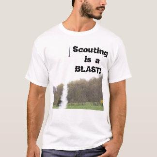 Camiseta T-shirt Scouting da explosão